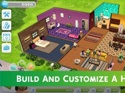 The Sims Mobile android hra zdarma