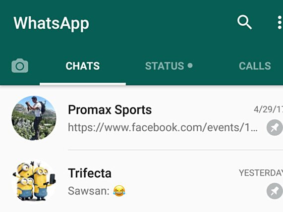 WhatsApp beta na Android systém