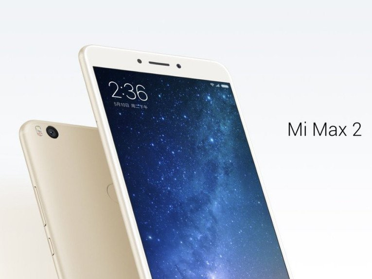 Xiaomi Mi Max 2 odhalen
