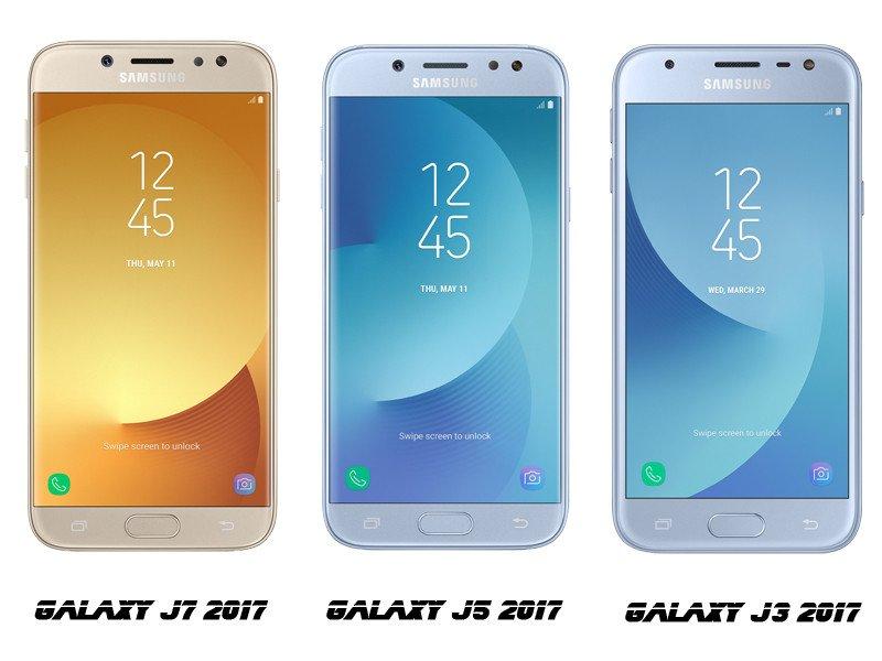 Oficiální představení nových telefonů Galaxy J7, J5 a J3