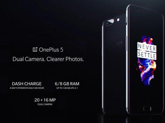 OnePlus 5 se přestane prodávat jakmile bude vyprodán