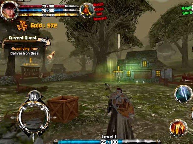 Crimson Warden: Clash of Kingdom Open World 3D RPG hra ke stažení