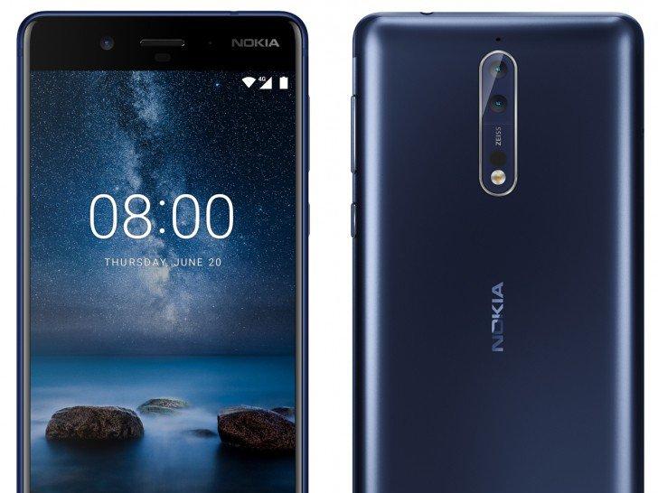 Nokia 8   novinářské rendery, specifikace   novinky