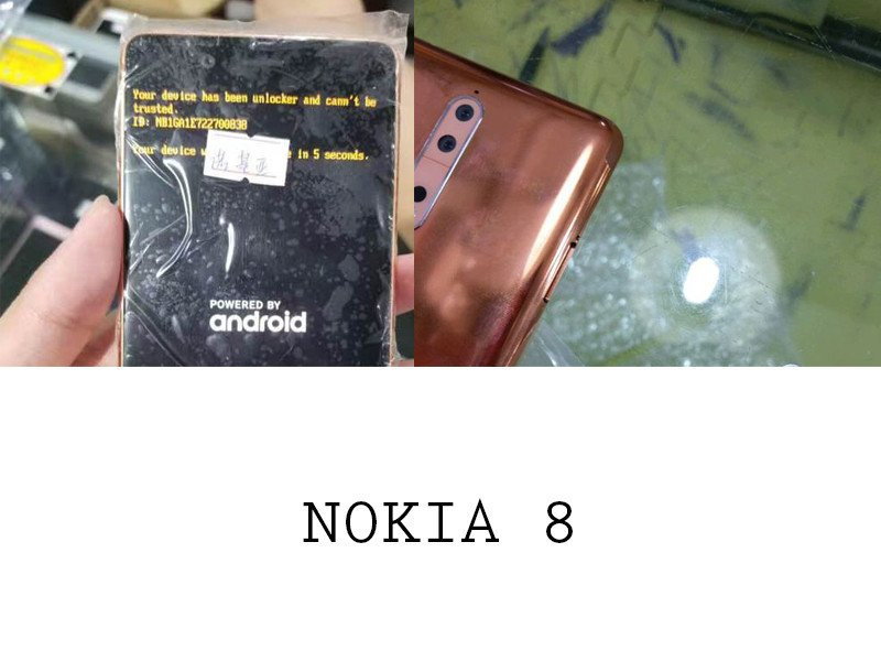 Nokia 8 telefon