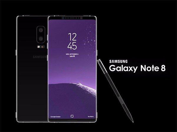 Samsung Galaxy Note 8 nové informace