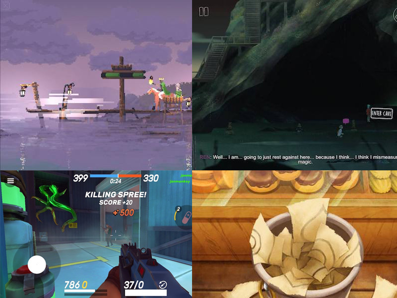 4 Nejlepší hry za poslední půl rok