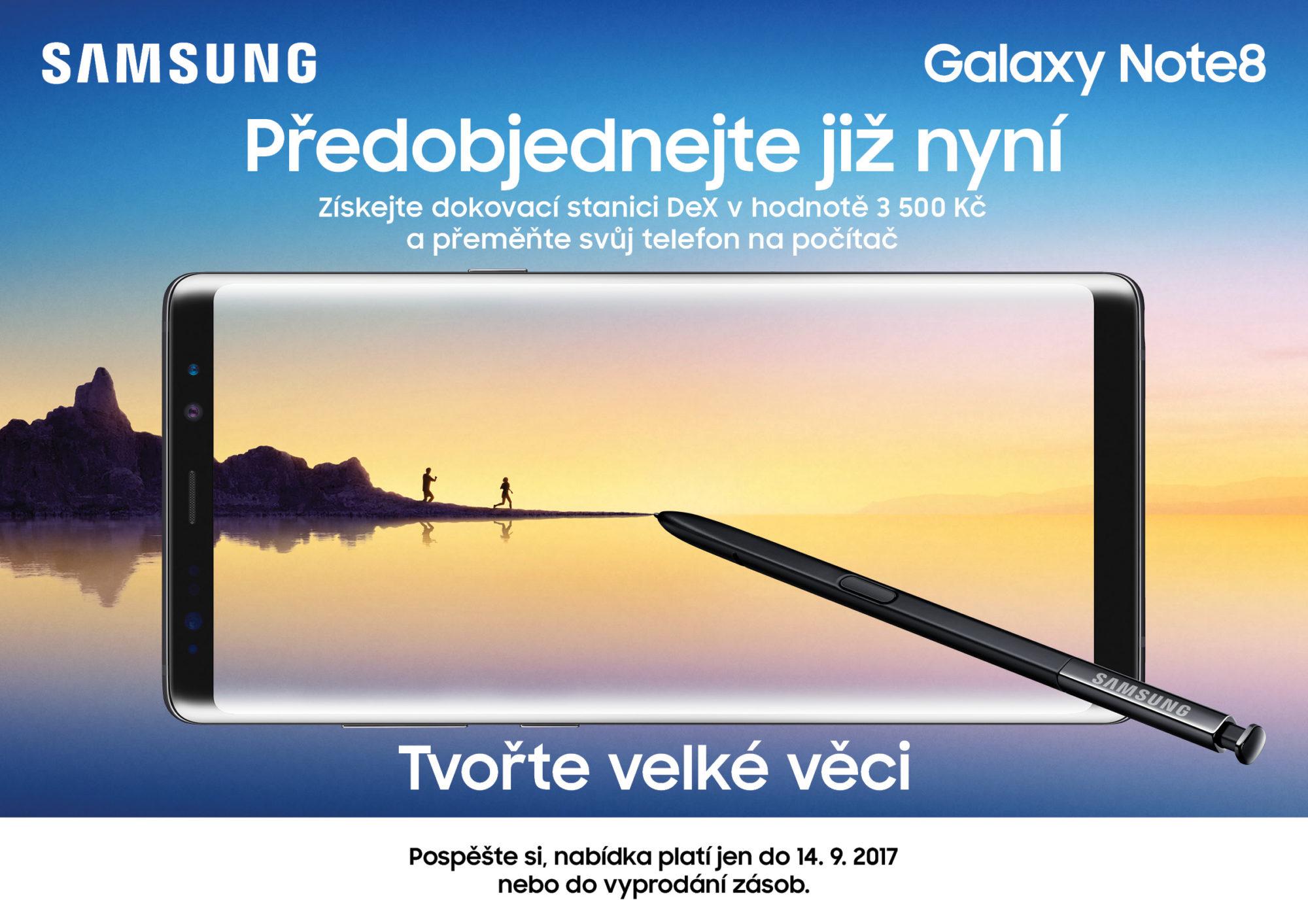 Samsung Galaxy Note 8 CZ trh