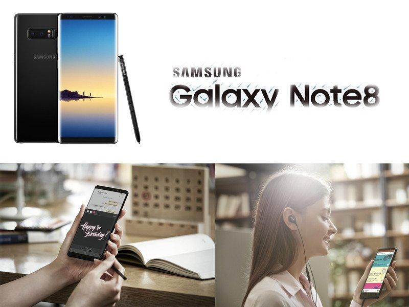 Samsung Galaxy Note 8 představen! + video [Aktualizace]   novinky