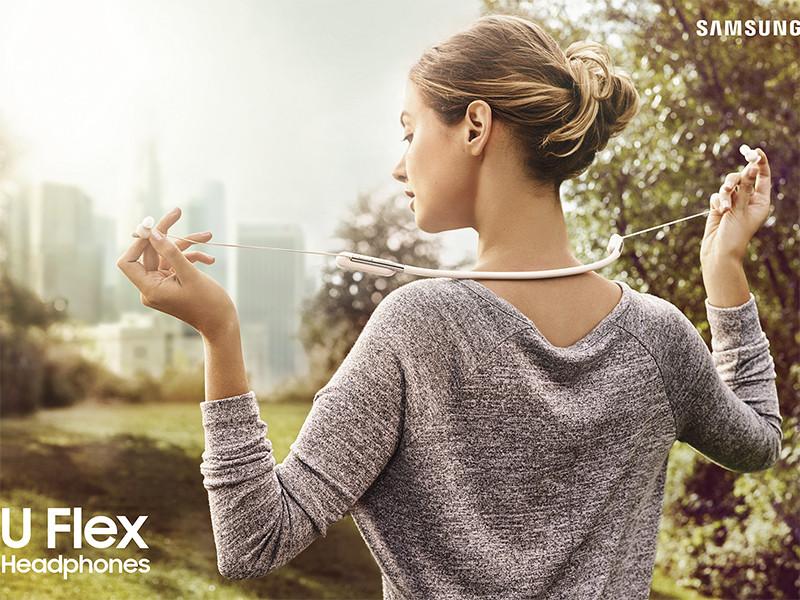 Sluchátka bluetooth Samsung U Flex