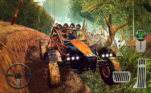 Hra 4x4 Dirt Offroad Parking   zavodni hry novinky androidhry