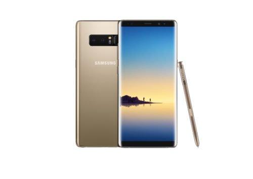 Samsung Galaxy Note 8 zlatá barva