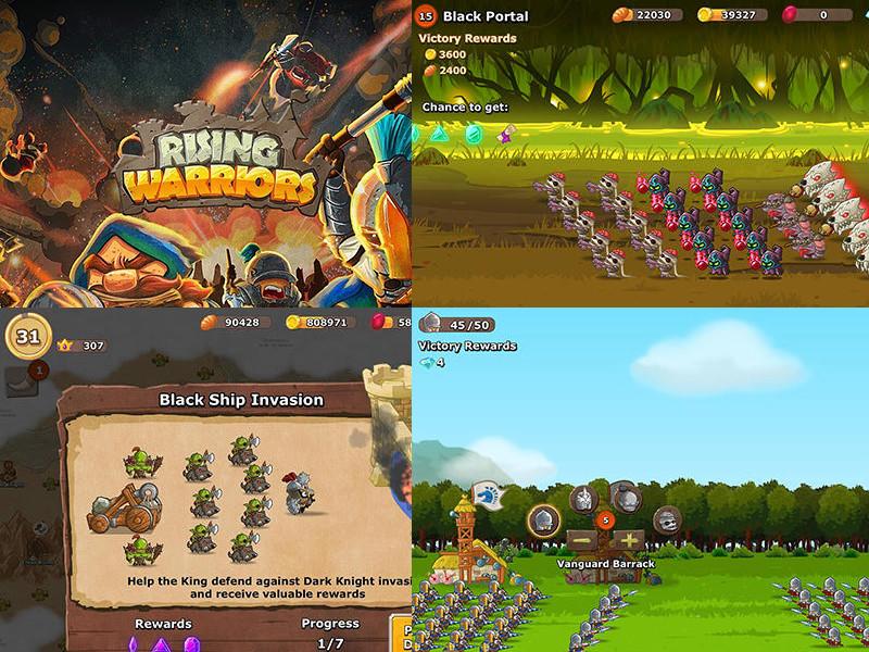 Rising Warriors: War Games - The New Order hra ke stažení na android telefony