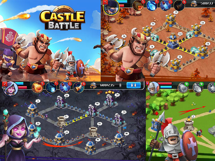 Hra Castle Battle