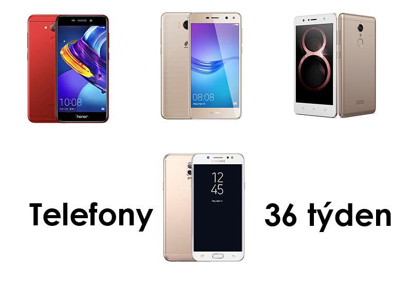 4 Nové mobilní telefony za 36 týden