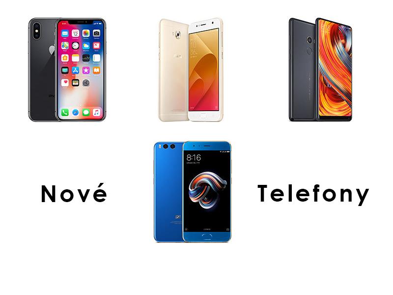 Nové telefony pro týden 37