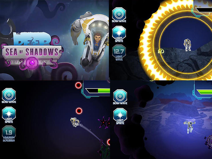 The Deep: Sea of Shadows android hra ke stažení