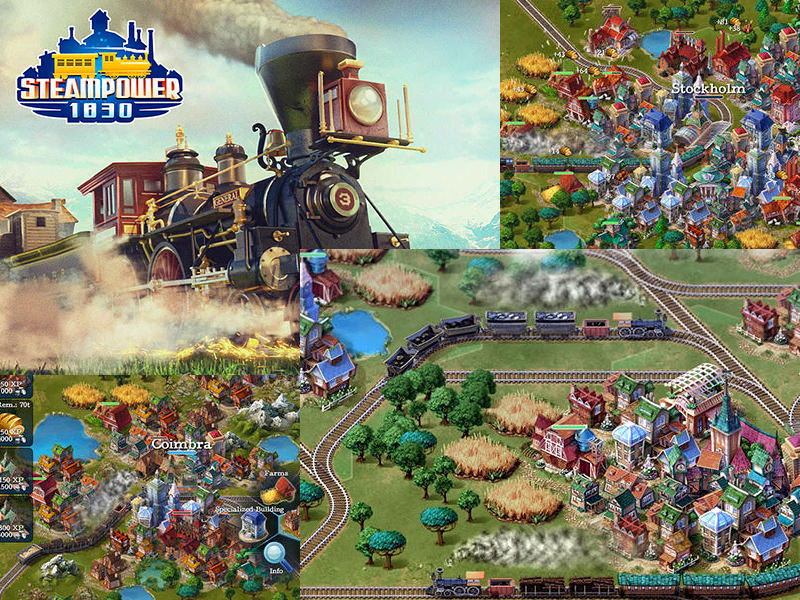 Hra Steampower 1830: Railroad tycoon