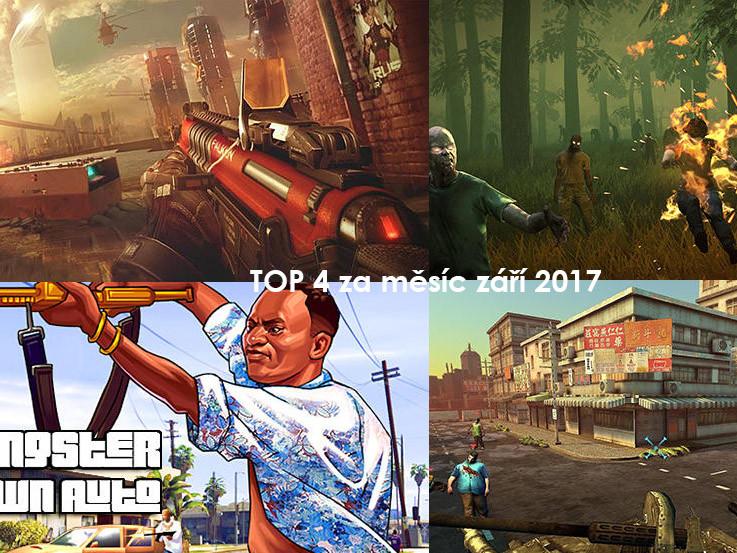 TOP android hry za září 2017