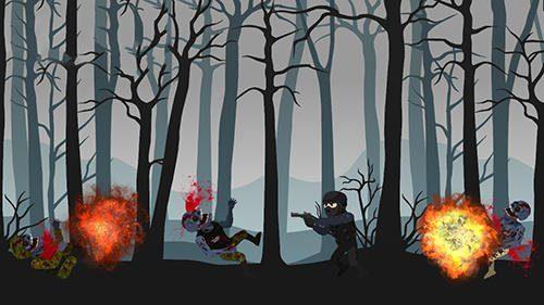 Hra Forest zombie kill