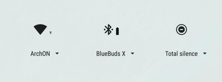 Bluetooth baterie