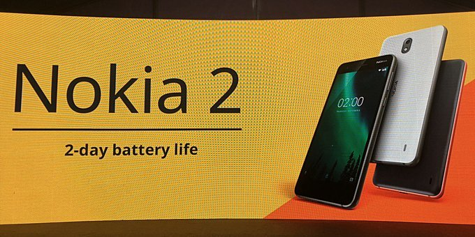Oficiální představení Nokia 2