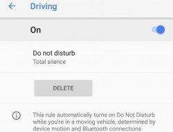 Google Pixel 2 mód nerušit