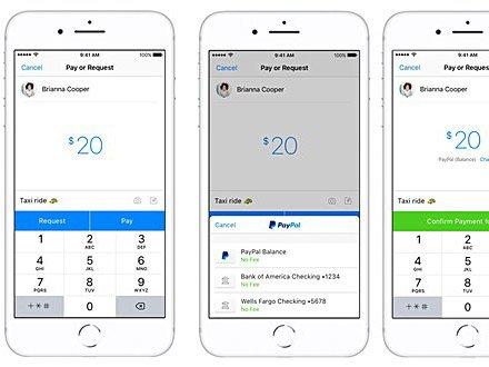 PayPal P2P platby