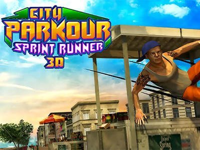 Hra City parkour sprint runner 3D