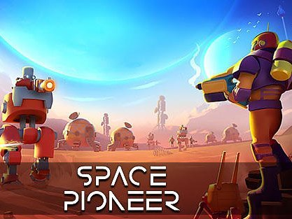 Hra ke stažení Space pioneer: Shoot, build and rule the galaxy