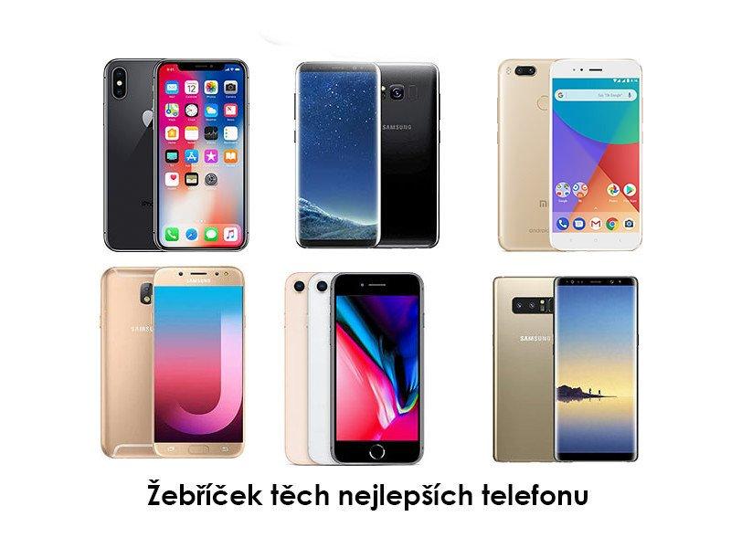 Nejlepší telefony za poslední týden