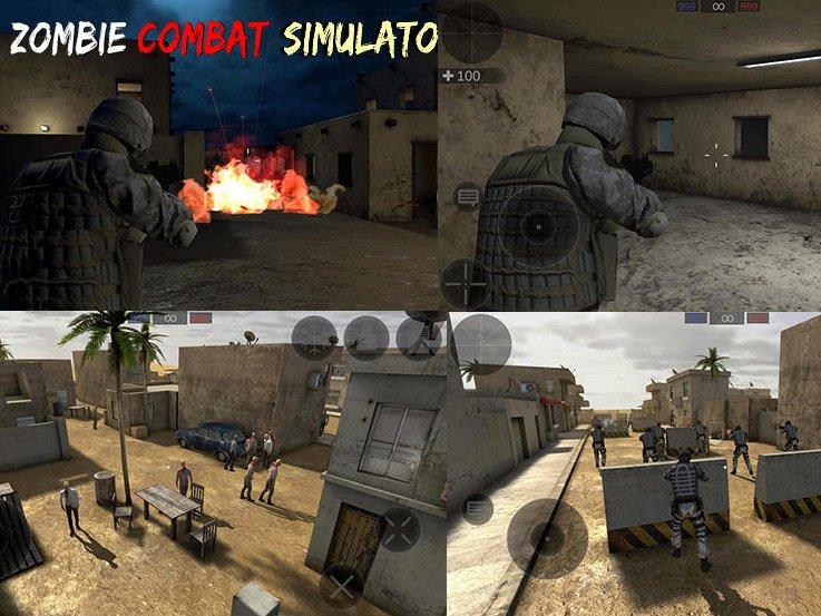 Zombie Combat simulator android hra