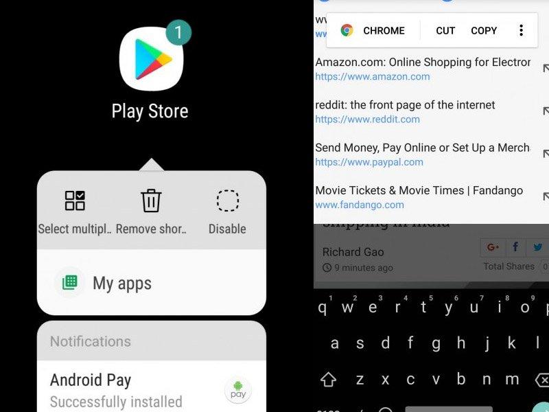 Podívejte se na první beta fotografie z Galaxy S8 s Android 8 Oreo