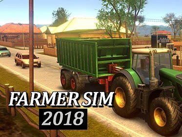 Hra Farmer sim 2018