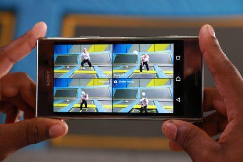 Sony Xperia XZ Premium 960 fps dodgebal