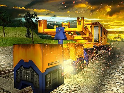 Railroad Building Simulator - build railroads!