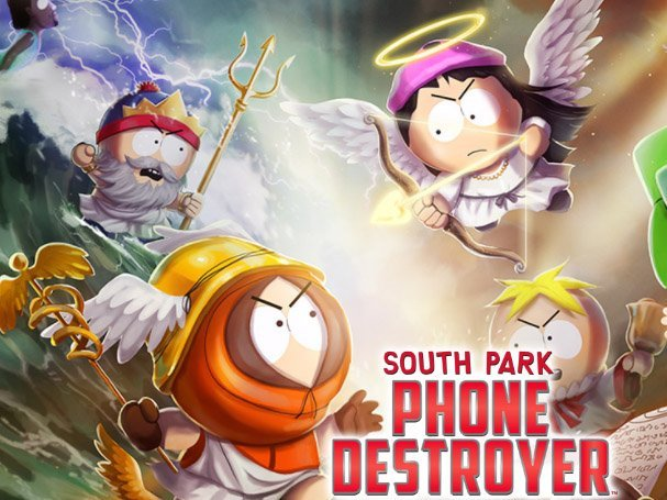 Android hra South Park Phone Destroyer