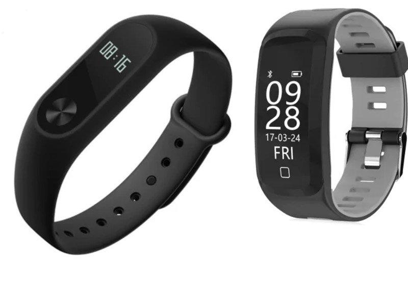 Xiaomi Mi Band 2 Fitness vs Sports Smartband