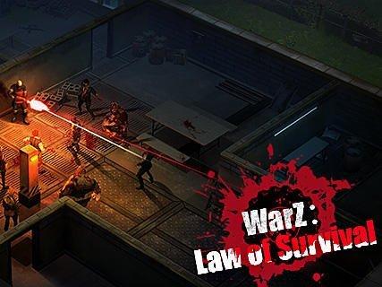 Zombie War ke stažení na mobilní telefon