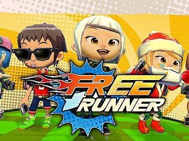 Hra na mobil Free runner
