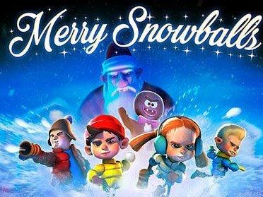 Merry snowballs hra na mobil