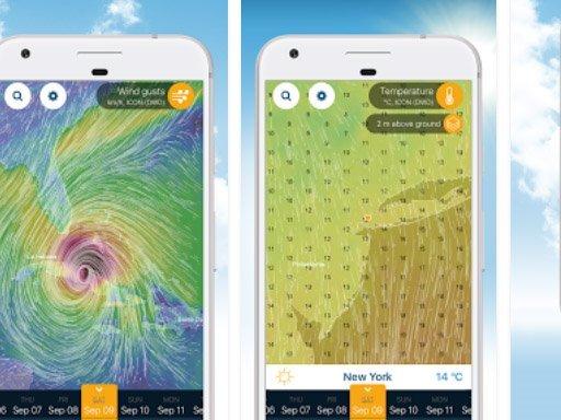 Aplikace Ventusky: Počasí na mapách   nastroje a pomucky android novinky androidaplikace