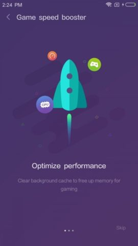 MIUI 9 s Game Speed Booster