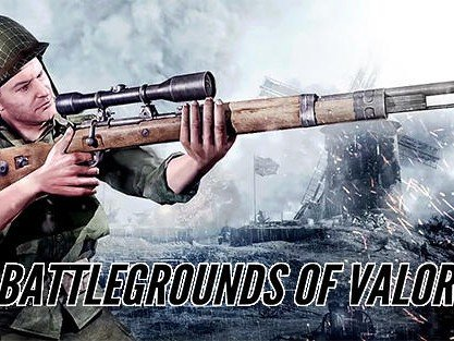 Battlegrounds of valor: WW2 arena survival