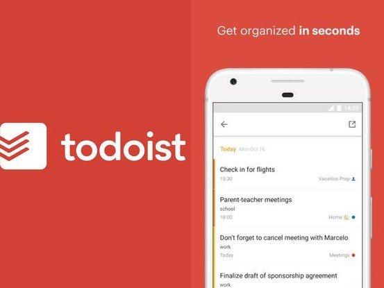 Aplikace Todoist
