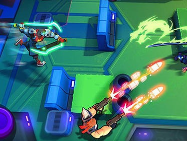 Blast squad hra na mobil android