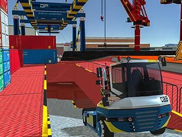Cargo Crew: Port Truck Driver závody