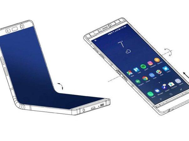 Samsung Galaxy X - ohebný telefon v roce 2019