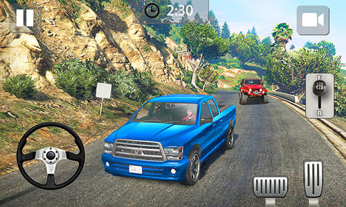 Off-road driving simulator android hra