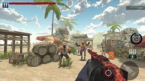 Hra Zombie hunter   novinky androidhry akcni hry
