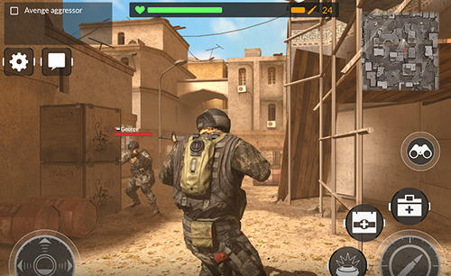 Android hra Code of war: Shooter online